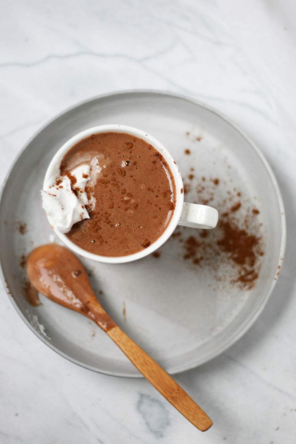 Spicy Mexican Hot Chocolate | VeguKate
